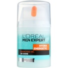 L'Oréal Paris Men Expert Hydra Energetic зволожуючий гель проти ознак втоми (Quenching Gel, No Shine) 50 мл