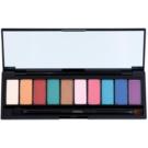 L'Oréal Paris Color Riche La Palette Glam paleta senčil za oči z ogledalom in aplikatorjem  7 g