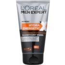 L'Oréal Paris Men Expert Hydra Energetic X reinigendes Gel mit magnetischer Kohle  150 ml