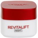 L'Oréal Paris Revitalift éjszakai feszesítő és ránctalanító krém minden bőrtípusra (Night Cream Anti-Wrinkle + Firming) 50 ml