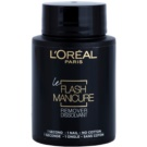 L'Oréal Paris Flash Manicure Remover acetona pentru unghii  75 ml
