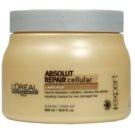 L'Oréal Professionnel Série Expert Absolut Repair Cellular máscara regeneradora para cabelo seco a danificado (Mask with Lactic Acid) 500 ml