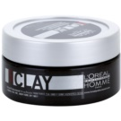 L'Oréal Professionnel Homme Styling modellierende Paste starke Fixierung (Clay Force 5) 50 ml