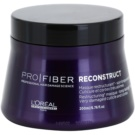 L'Oréal Professionnel Pro Fiber Reconstruct Regenerating Mask For Very Dry And Damaged Hair (When Dry, Hair is Noticeably More Supple, Silky Soft from Root to Tip and Detangles Easily) 200 ml