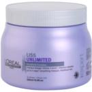 L'Oréal Professionnel Série Expert Liss Unlimited glättende Maske für unnachgiebige und strapaziertes Haar  500 ml