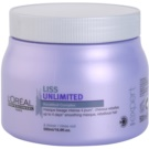 L'Oréal Professionnel Série Expert Liss Unlimited изглаждаща маска за неподдайна коса (Smoothing Masque for Rebellious Hair) 500 мл.