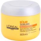 L'Oréal Professionnel Série Expert Solar Sublime tápláló maszk nap által károsult haj (Mask with Mexoryl S.O UV-Protect) 200 ml