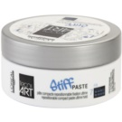 L'Oréal Professionnel Tecni Art Stiff pasta modeladora com efeito matificante (Repositionable Compact Paste Ultimate Hold) 75 ml