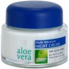 LR Aloe Vera Face Care regeneráló éjszakai krém (50% Aloe Vera and Bio Olive Extract) 50 ml