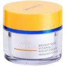 Lumene Bright Now Vitamin C creme de noite para todos os tipos de pele  50 ml