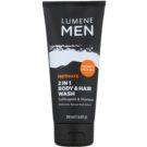 Lumene Men Motivate гель для душа для тіла та волосся 200 мл