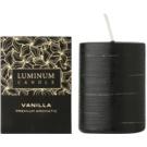 Luminum Candle Premium Aromatic Vanilla vonná sviečka   zdobená stredná (Ø 60 - 80 mm, 32 h)
