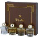 M. Micallef Mini dárková sada I. Akowa + Emir + Pure + Ananda Dolce parfemovaná voda 4 x 5 ml