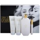 Madonna Truth or Dare подарунковий набір І  Парфумована вода 75 ml + Молочко для тіла 75 ml + Гель для душу 75 ml + mini roller ball 10 ml