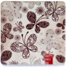 Magnum Feel The Style Square Pocket Mirror (Butterflies)