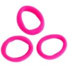Magnum Hair Fashion Haargummi Pink 3 St.