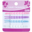 Magnum Hair Fashion barevné pinety do vlasů Pink, Violet, Blue, White 8 Ks