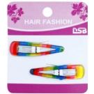 Magnum Hair Fashion ganchos coloridos para cabelos Rainbow 2 un.