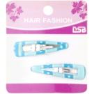 Magnum Hair Fashion Coloured Hair Clips Blue 2 pc