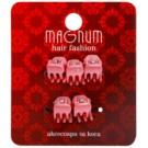 Magnum Hair Fashion Hair Clips Pink 5 pc