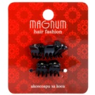 Magnum Hair Fashion щипка за коса Black 5 бр.