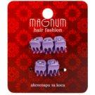 Magnum Hair Fashion hajcsattok Lila 5 db