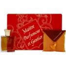 Maitre Parfumeur et Gantier Ambre Doré coffret  Eau de Toilette 50 ml + almofadas perfumadas