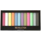 Makeup Revolution Acid Brights paleta farduri de ochi  14 g