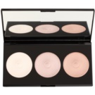 Makeup Revolution Beyond Radiance Highlighter Palette With Mirror (3 Radiant Lights Highlighters) 15 g