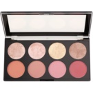 Makeup Revolution Blush paleta de coloretes  tono Blush Goddess 13 g