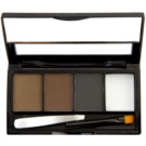 Makeup Revolution I ♥ Makeup Brows Kit set za obrvi odtenek Bold Is Best 3 g