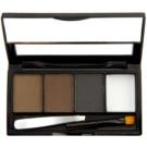 Makeup Revolution I ♥ Makeup Brows Kit Augenbrauen-Set Farbton Bold Is Best 3 g