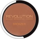 Makeup Revolution Bronzer bronzer se zrcátkem a aplikátorem odstín Bronzer Kiss 6,8 g