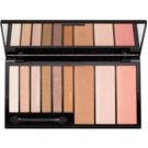 Makeup Revolution Euphoria Bronzed Multifunctional Face Palette With Mirror And Applicator  18 g