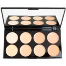 Makeup Revolution Cover & Conceal Palette mit Korrekturstiften Farbton Light 10 g