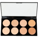 Makeup Revolution Cover & Conceal Palette mit Korrekturstiften Farbton Light - Medium 10 g