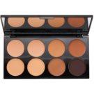 Makeup Revolution Cover & Conceal paleta korektorů odstín Medium - Dark 10 g