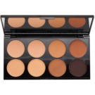 Makeup Revolution Cover & Conceal Concealer Palette Color Medium - Dark 10 g
