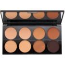 Makeup Revolution Cover & Conceal paleta de corretores tom Medium - Dark 10 g