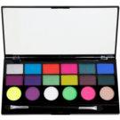 Makeup Revolution Colour Chaos szemhéjfesték paletták 13 g