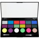 Makeup Revolution Colour Chaos палитра от сенки за очи  13 гр.