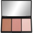 Makeup Revolution I ♥ Makeup Definition paleta do konturowania twarzy odcień Fair 11 g