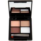 Makeup Revolution Focus & Fix Set für perfekte Augenbrauen Farbton Light Medium 4 g