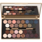 Makeup Revolution Fortune Favours the Brave Palette mit Lidschatten inkl. Spiegel und Pinsel (30 Eyeshadows) 16 g