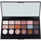 Makeup Revolution Girl Panic Eye Shadow Palette (18 Color) 13 g