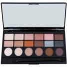 Makeup Revolution Girl Panic Palette mit Lidschatten  13 g