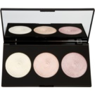 Makeup Revolution Highlight paleta rozjasňujících pudrů (Highlighting Powder Palette) 15 g