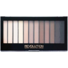 Makeup Revolution Iconic Elements paleta očních stínů (12 Color) 14 g