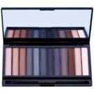 Makeup Revolution Iconic Smokey szemhéjfesték paletták tükörrel és aplikátorral  13 g