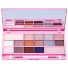 Makeup Revolution I ♥ Makeup I Heart Chocolate Eye Shadow Palette With Mirror And Applicator Color Pink Fizz (16 Eyeshadows) 22 g